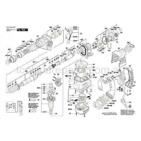 Bosch Tipi Gbh 3-28 Kovan Borusu