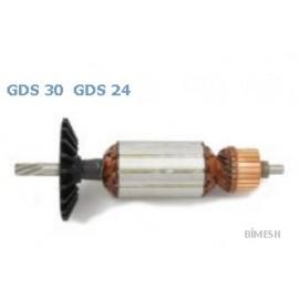 Bosch Tipi Gds 30 Endüvi ( Rotor - Kollektör )