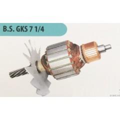 Bosch Tipi Gks 7 1/4 Sunta Kesme Makinesi Endüvi ( Rotor - Kollektör )si