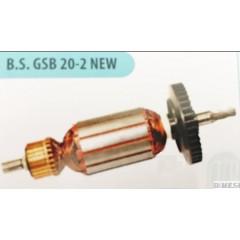 Bosch Tipi Gsb 20-2 Endüvi ( Rotor - Kollektör )