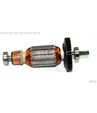 Bosch Tipi Psb 500 Re Endüvi ( Rotor - Kollektör ) Yeni Model