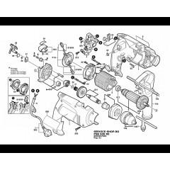 Bosch Tipi Psb 500 Re Endüvi ( Rotor - Kollektör ) Eski Model