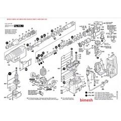 Bosch Tipi Gbh5-40 Gbh5-40D Gsh5Ce Gbh 5-40D Gsh 5Ce