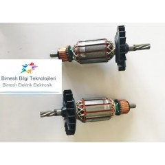 Bosch Tipi Gbh 2-24 Dsr Endüvi ( Rotor - Kollektör )