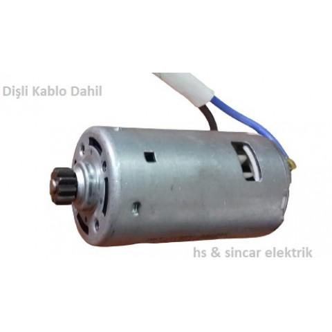Zeytin Hasat Makinası 12 V Dc 45Zyx-06 Motor Motor Dişli Kablo Dahil