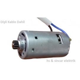 Zeytek 24 V Dc Kg 775 - Motor Kısa