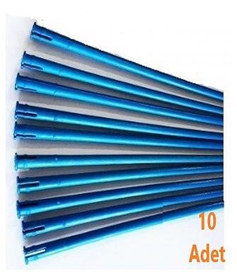 Alice Power12 Zeytin Çırpma Makinası Mavi Konik Çubuk 10Lu Eko Paket