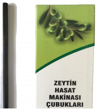 Zanon Benza Zeytin Hasat Makinaları 5Mm Karbon Fiber Çubuk