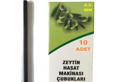 4.5mm Zeytin Hasat Makinaları Karbon Fiber Çubuk 10lu Paket