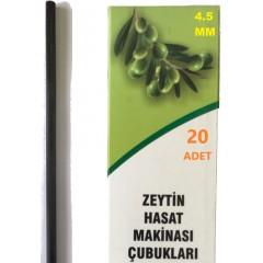 Zanon Yarasa 4,5Mm Karbon Fiber Çubuk 20 Adet