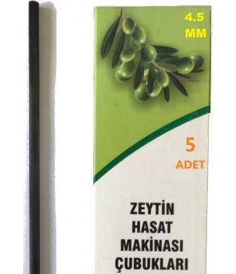 Zanon Yarasa 4,5Mm Karbon Fiber Çubuk 5 Adet