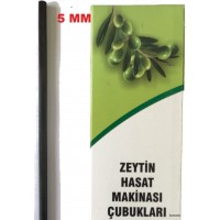Zeytin Hasat Makinaları 5Mm Karbon Fiber Çubuk