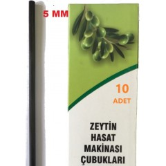 Zeytin Hasat Makinaları 10 Adet 5Mm Karbon Fiber Çubuk