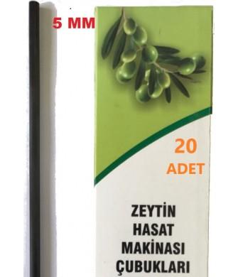 Zeytin Hasat Makinaları 20 Adet 5Mm Karbon Fiber Çubuk