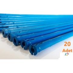 Campagnola Alice Zeytin Hasat Makinası 20 Adet Mavi Konik Uzun Çubuk