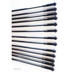 Minelli Tipi Zeytin Hasat Makinaları 5 Adet Plastik Pasolu Karbon Fiber Çubuk