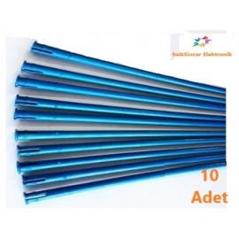 Campagnola Alice Zeytin Hasat Makinası 10 Adet Mavi Konik Uzun Çubuk