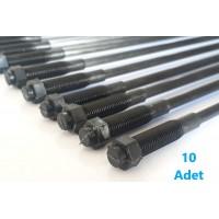 Minelli Tipi Zeytin Hasat Makinaları 10 Adet Plastik Pasolu Karbon Fiber Çubuk